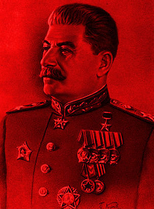 Stalin drowned the Bolshevik party in blood but used the language of socialism to cover for his crimes